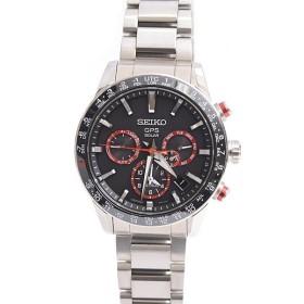 セイコー アストロン 大谷翔平 ステンレス GPSソーラー メンズ腕時計 赤 5X53-0AF0(SBXC017) SEIKO 中古