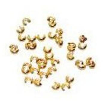 クリンプカバー 3mm ゴールド