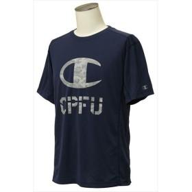[Champion]チャンピオン 半袖Tシャツ (C3-QS321)(385) ダークブルー[取寄商品]