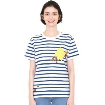 [マルイ] 【ユニセックス】コラボレーションTシャツ/ドーナツ(おさるのジョージ)/グラニフ(graniph)