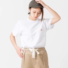 (ダントン) DANTON クルーネックポケットTシャツ [JD-9041] WHITE 34