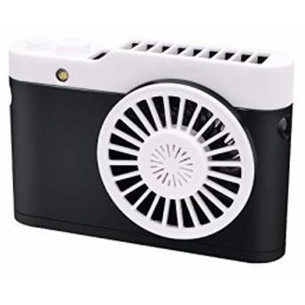【2019最新版】 Verkstar 携帯扇風機 首かけ扇風機 両手を解放 3段階風量調整 大風量 ミニ超小型 超静音 ・・・