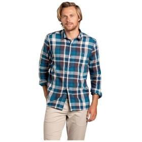 トードアンドコー Toad & Co メンズ シャツ トップス Peak Season Long Sleeve Shirt Riviera Blue