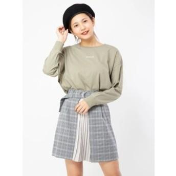 セシルマクビー(CECIL McBEE)/フロントプリーツデザインスカート