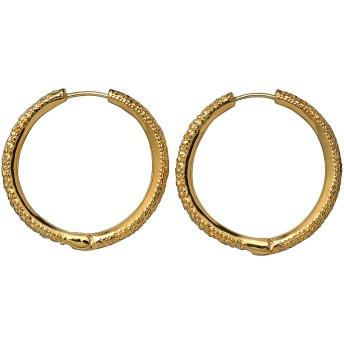 AYAMI jewelry アヤミ ジュエリー 【受注生産】パヴェスモールフープピアス ゴールド