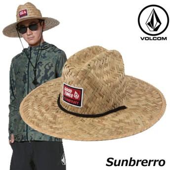 volcom ボルコム 麦わら帽子 Sunbrerro メンズ D5511915