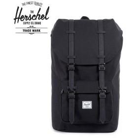 Herschel Supply  ハーシェルサプライ バックパック / Little America  リトルアメリカ  / BLACK x BLACK / 25L /10014-00535