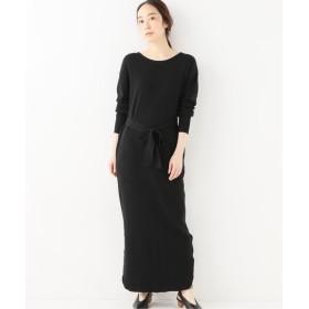 BOICE FROM BAYCREW'S RITA THERMAL 2WAY LONG DRESS ブラック フリー