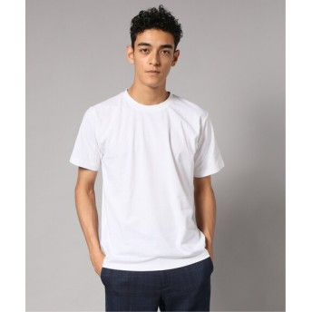 EDIFICE FUNCTIONAL COTTON クルーネック Tシャツ ホワイト S