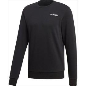 [adidas]アディダス M CORE ベーシッククルーネックスウェット (裏毛) (FSG87)(DU0395) ブラック/ホワイト[取寄商品]