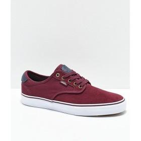 ヴァンズ VANS メンズ シューズ・靴 Vans Chima Pro Port Royal & Parisian Shoes Dark red