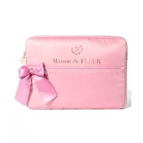 メゾンドフルール サテンリボンPCケース レディース ピンク FREE 【Maison de FLEUR】