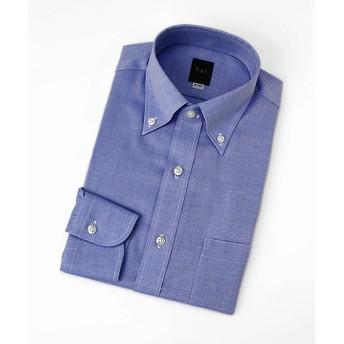 【SALE(伊勢丹)】<ビージーアール> 長袖ボタンダウンドビーシャツ(3048421521) サックス 【三越・伊勢丹/公式】