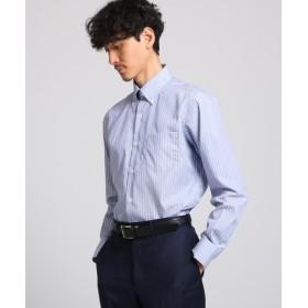 タケオキクチ クラスターストライプシャツ メンズ ブルー(932) 02(M) 【TAKEO KIKUCHI】