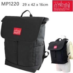 マンハッタンポーテージ リュック WASHINGTON SQ Backpack ブラック  MP1220 ワシントンSQ Manhattan Portage