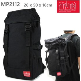 マンハッタンポーテージ リュック バッグ DECO Backpack ブラック  MP2112 Manhattan Portage