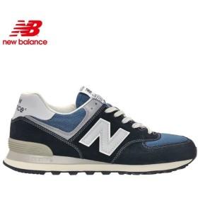NEW BALANCE ニューバランス スニーカー シューズ / ML574 DNA NAVY BLUE / ネイビー ブルー / 574 / 正規取扱店