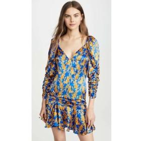 キャロライン コンスタス Caroline Constas レディース ワンピース ワンピース・ドレス Evelyn Dress Blue/Yellow