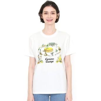 [マルイ] 【ユニセックス】コラボレーションTシャツ/サーカス(おさるのジョージ)/グラニフ(graniph)