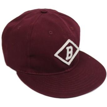 EBBETS FIELD FLANNELS/ BISMARCKCHURCHILLS1935 6PANEL COTTON CAP / エベッツ キャップ フリーサイズ