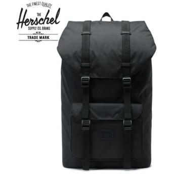 Herschel Supply  ハーシェルサプライ バックパック / Little America Light リトルアメリカ ライト / BLACK / 25L / 10624-02469