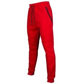 サウスポール Southpole メンズ ジョガーパンツ ボトムス・パンツ fleece zippered detailed jogger Red