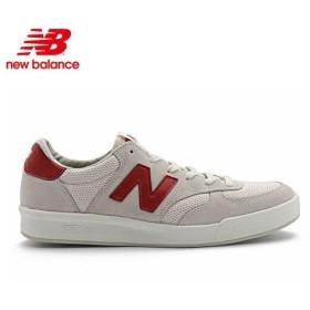 NEW BALANCE ニューバランス スニーカー シューズ テニススタイル / CRT300 - WHITE x RED / CRT300WR-A / 正規取扱店