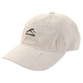 PGAC(PGAC) リネン刺繍キャップ HOLD 897PA9ST1755 NTL (Men's)