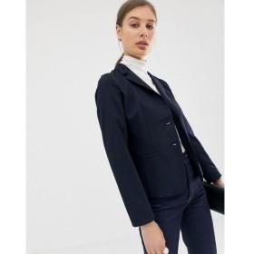 エメ EMME レディース スーツ・ジャケット アウター Emme suit blazer Navy