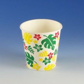 紙氷カップ Nハワイアン G/Y(400ml) かき氷用カップ (容量400cc 口径90 高さ90 底径65) 50個