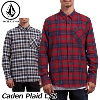 volcom ボルコム シャツ Caden Plaid L/S メンズ 長袖 A0531804 【返品種別OUTLET】