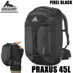 グレゴリー リュック デイパック PRAXUS 45  104079 -5466 プラクサス 45L ピクセル ブラック GREGORY リュック