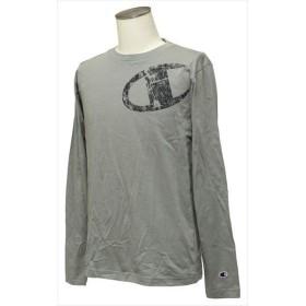 [Champion]チャンピオン 長袖Tシャツ (C3-QS403)(070) オックスフォードグレー[取寄商品]