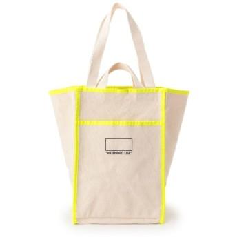 デッサン ネオンラインキャンバスショッピングバッグ レディース アイボリー(504) 00 【Dessin】