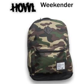 処分価格 バックパック HOWL リュック Weekender Backpack カモ/ハウル スノーボード バックパック