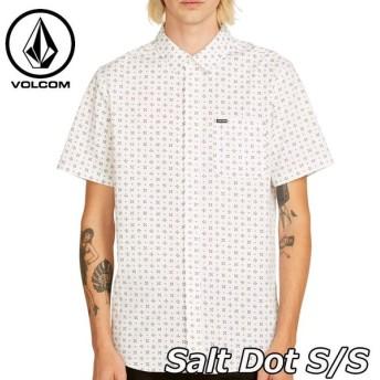 volcom ボルコム シャツ Salt Dot S/S メンズ 半袖 A0411912
