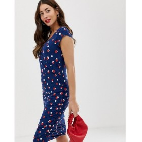 ママリシャス Mama.licious レディース ワンピース ワンピース・ドレス Mamalicious maternity spot cap sleeve jersey mini dress Multi