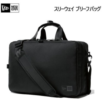 ニューエラ ビジネスコレクション スリーウェイ ブリーフバッグ 16L ブラック(11901527)newera バッグ かばん 黒 通勤 通学