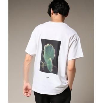 【60%OFF】 エディフィス CHIBIFLOWER BACK PRINT ショートスリーブ Tシャツ メンズ ホワイト M 【EDIFICE】 【セール開催中】