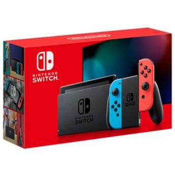 任天堂Nintendo SwitchJoy-Con(L) ネオンブルー/(R) ネオンレッドHADSKABAA