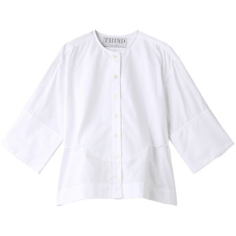 THIRD MAGAZINE サード マガジン THOMAS MASONロングカフスシャツ ホワイト