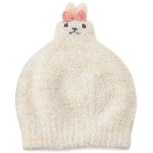クレードスコープ(kladskap)ひょっこりアニマルマシュマロニット帽