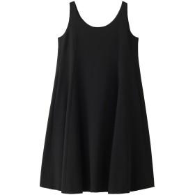 MADISONBLUE マディソンブルー ノースリーブドレープドレス ブラック