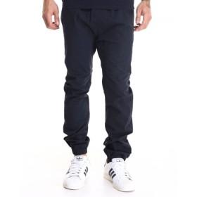 バイヤーズピック Buyers Picks メンズ ジョガーパンツ ボトムス・パンツ drop crotch stretch twill jogger Navy