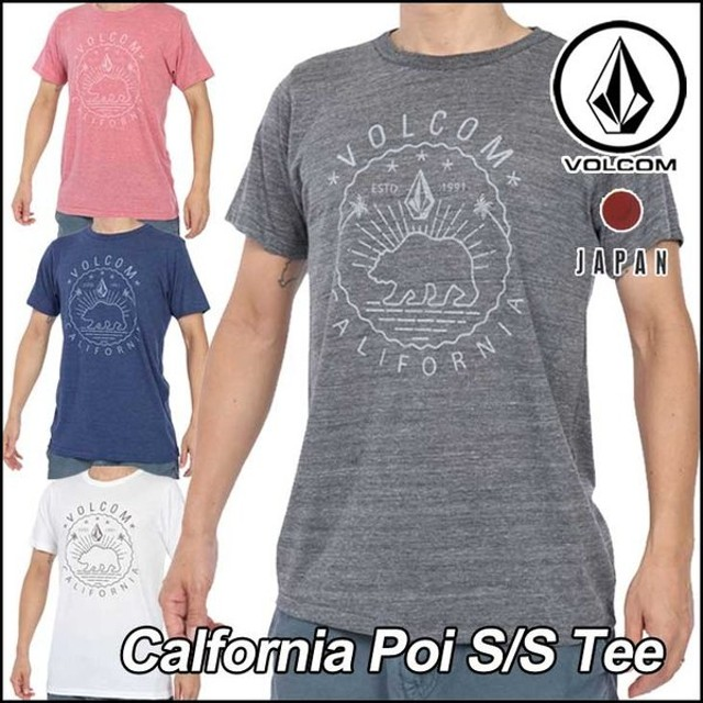 volcom Japan Limited ボルコム tシャツ メンズ Calfornia Poi SS Tee 半そで ヴォルコム メール便可【返品種別OUTLET】