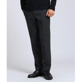 タケオキクチ ネップ千鳥ジャージスラックス Fabric by INWOOL メンズ チャコールグレー(414) 04(LL) 【TAKEO KIKUCHI】