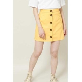ローズバッド(ROSE BUD)/フロント釦付ミニスカート