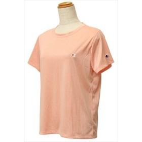 【1点までメール便可】 [Champion]チャンピオン レディース C ベイパー Tシャツ (CW-PS302)(956) ピンクベージュ[取寄商品]
