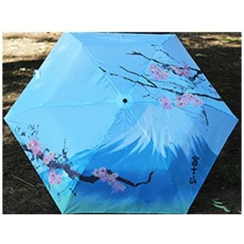 折りたたみ晴雨傘 50cm I-001 富士山