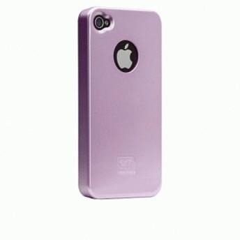 iPhone 4S/iPhone 4 共通 Barely/Case/Pearl/Lilac スマートフォンケース スマホケース [▲][G]